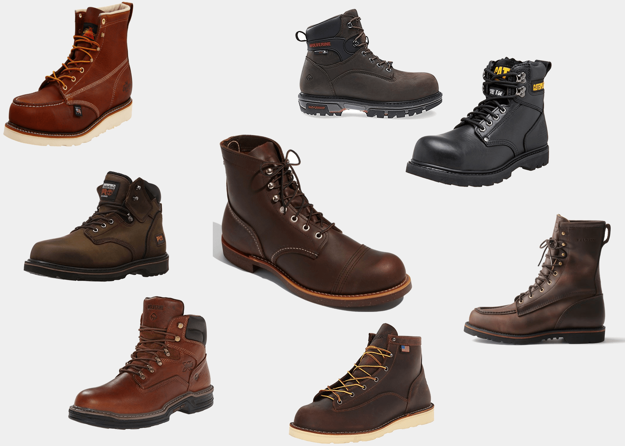 b902a6278f4 The 11 Best Work Boots for Men | Improb