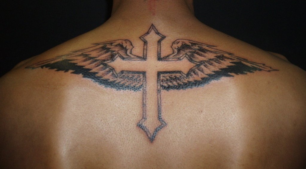 56 Best Cross Tattoos For Men