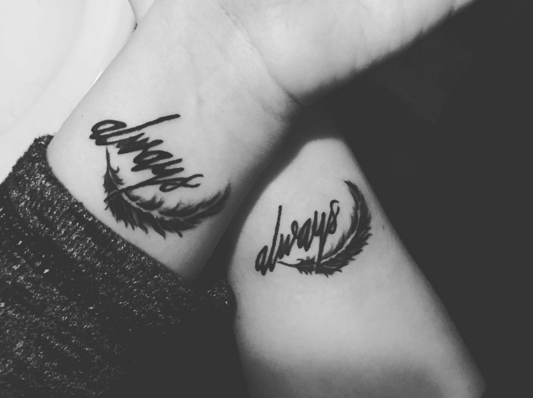 db9fdad72 109 Best Matching Couple Tattoos | Improb