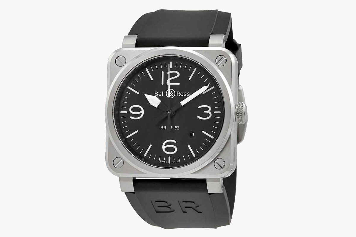 Bell and Ross Aviation Men's Automatic Watch BR 03-92