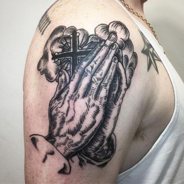 Cross on Hands