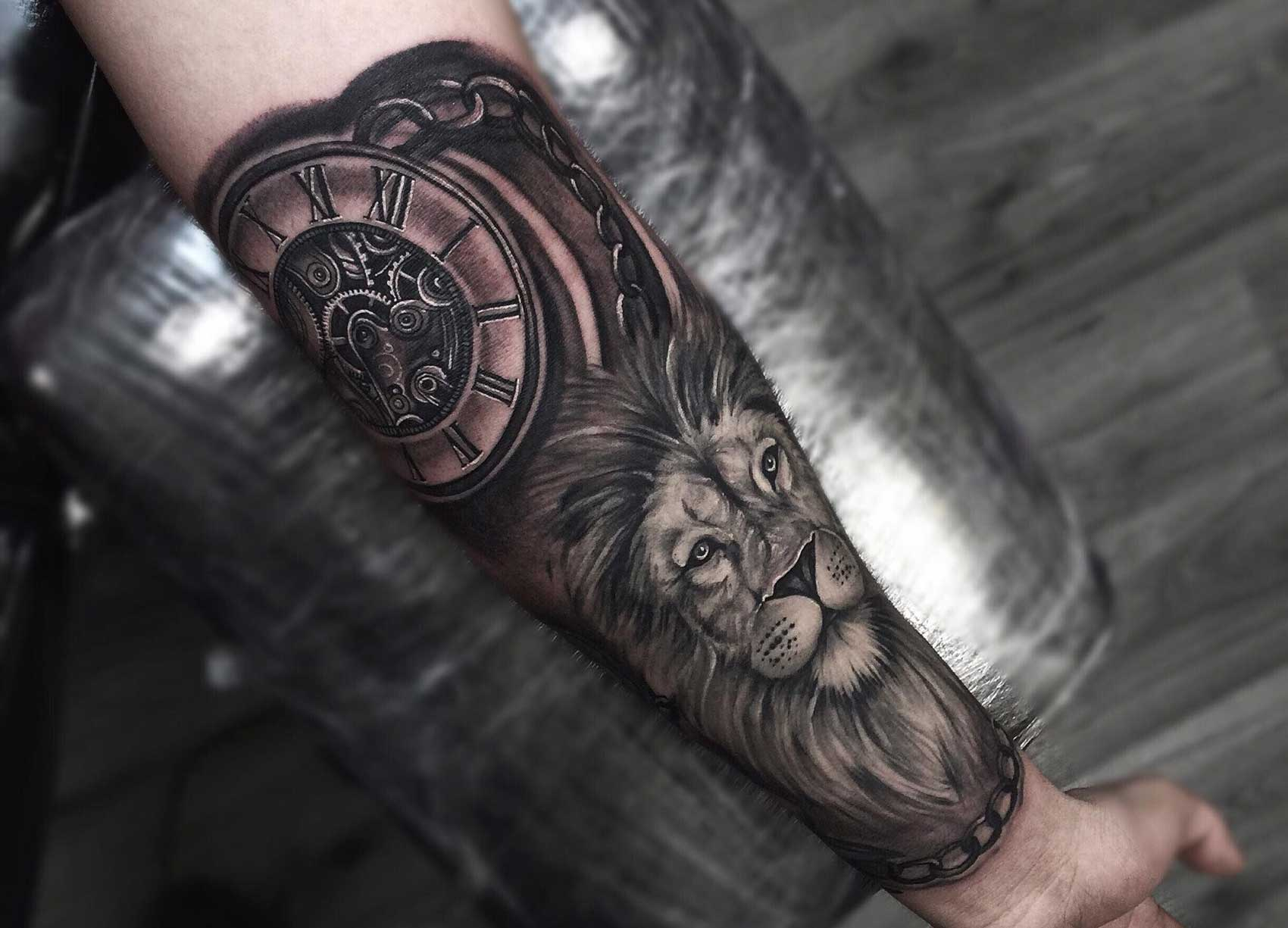 The 85 Best Clock Tattoos For Men Improb