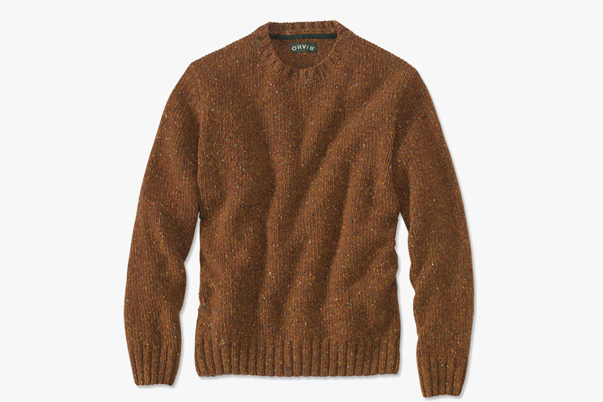 Orvis Newbridge Donegal Crewneck Sweater