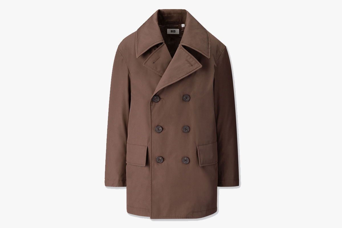 Uniqlo Padded Peacoat