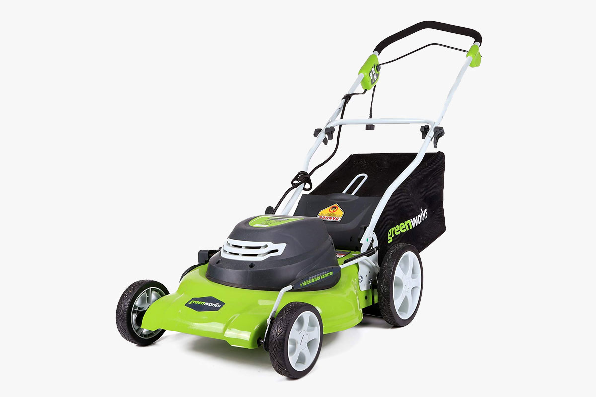 GreenWorks 12-Amp Corded 20-Inch Mower