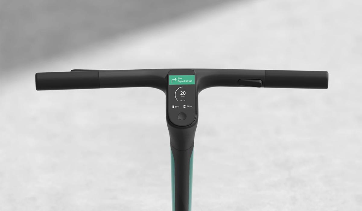 carbon fiber 3d printed scooter front panel